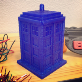 Tardis phone booth 3D print