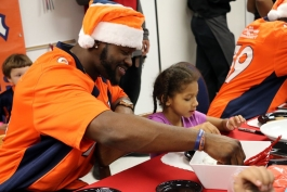 denver bronco volunteering