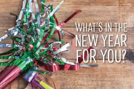 Whats in the new year for you?