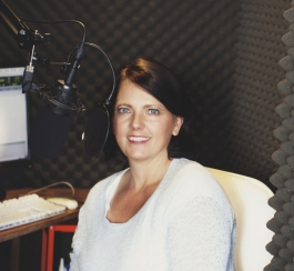 Cassandra Campbell, audiobook voice actor and director