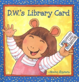 DW's Library Card book