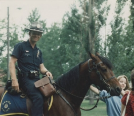 Denver mounted policeman