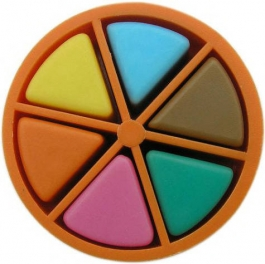 Trivial Pursuit game piece