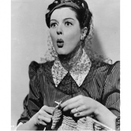 Rosalind Russell (as Sylvia Fowler) in the film The Women