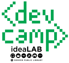 ideaLAB dev camp logo