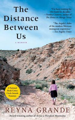 "Cover of the book ""The Distance Between Us,"" available from DPL"