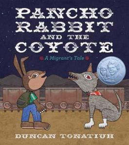 "Cover of ""Pancho Rabbit and the Coyote,"" available from DPL."