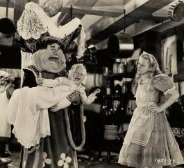 Film still from the 1933 version of Alice in Wonderland
