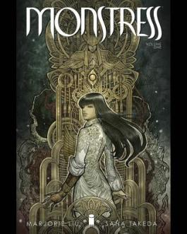 Monstress book cover