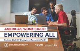 National Disability Employment Awareness Month - Empowering All