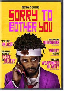 DVD Cover Sorry to Bother You