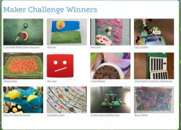 Maker Challenge Winners