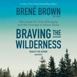 "Cover of the book ""Braving the Wilderness,"" available at DPL"