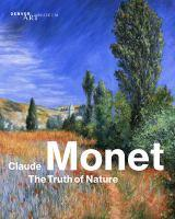 Monet the truth of nature cover