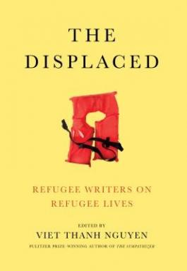 "Cover of the book ""The Displaced,"" available at DPL."