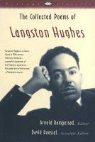 cover: the collected poems of langston hughes