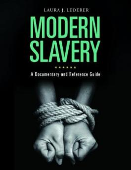 "Cover of the book ""Modern Slavery,"" available from DPL"