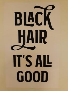 Black Hair it's all good image