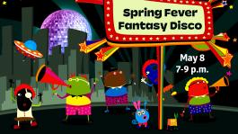 Virtual Spring Fever Fantasy Disco Party