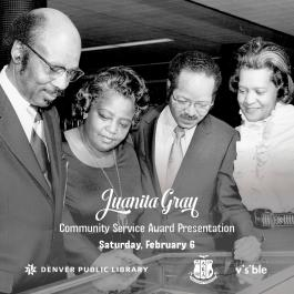 Juanita Gray Community Service Awards - announcement of winners