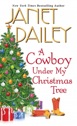 Cover for A Cowboy Under My Christmas Tree by Janet Dailey