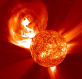 Coronal Mass Ejection from the Sun (NASA image)