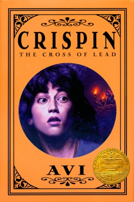 Book cover for Crispin: Cross of Lead by Avi