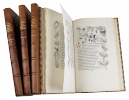 Canterbury Tales, 1929-31 edition with illustrations by Eric Gill.