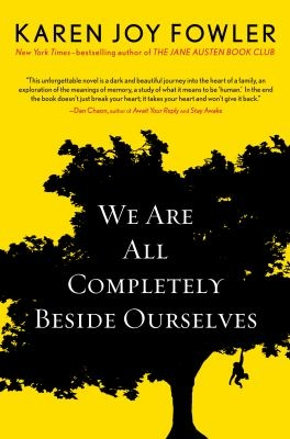 Cover image of book We Are Completely Beside Ourselves