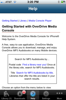 Getting Started With Overdrive Media Console