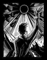 Image from God's Man by Lynd Ward