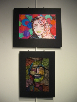 Middle School Art Exhibition