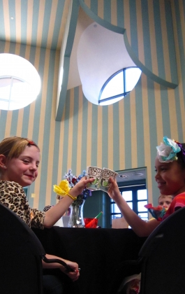 Children at the Children's Library Tea Party