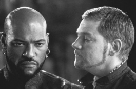 Laurence Fishburne and Kenneth Branaugh