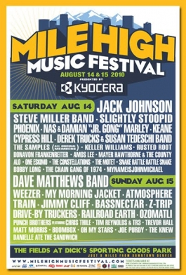 Mile High Music Festival (poster)