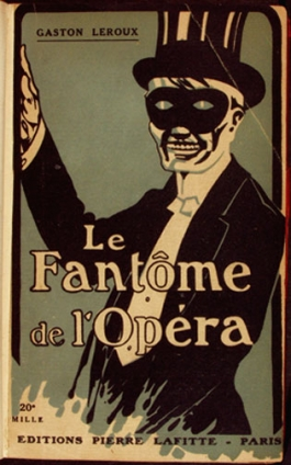 Cover art for a 1920 edition of Phantom of the Opera