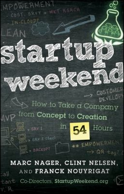 "Cover of ""Startup Weekend,"" available through DPL"