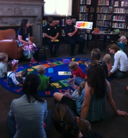 Storytime at Byers Library with DPD District 1