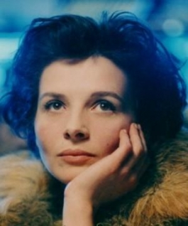 Juliette Binoche in the film Blue