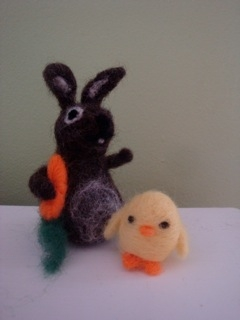 felted animals