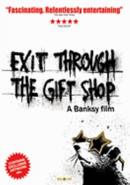 cover for exit through the gift shop