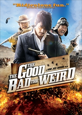 poster for the good, the bad, and the weird