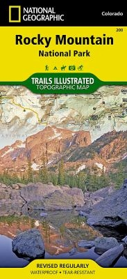 Trails Illustrated Map of Rocky Mountain National Park