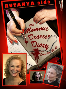 Cover of the new book, The Mommie Dearest Diary