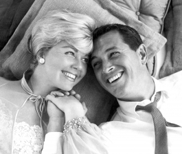 Doris Day and Rock Hudson (Doris Kappelhof and Roy Fitzgerald)