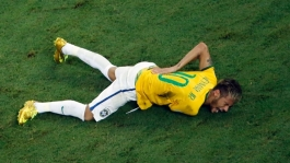Neymar World Cup injury