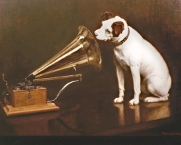 Nipper and the Gramophone