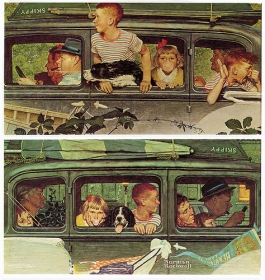 Norman Rockwell's Family Vacation