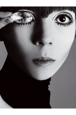 Penelope Tree photographed by Richard Avedon