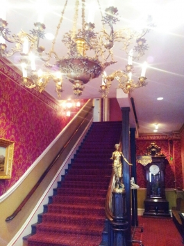 The Grand Staircase in the Teller House.